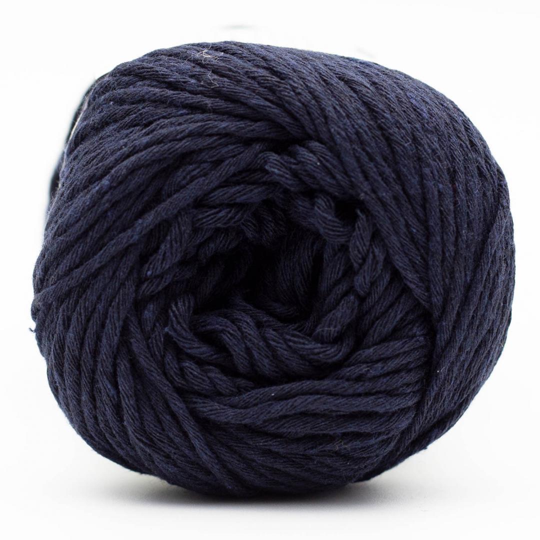 Kremke Soul Wool Karma Cotton, coton recyclé Navy