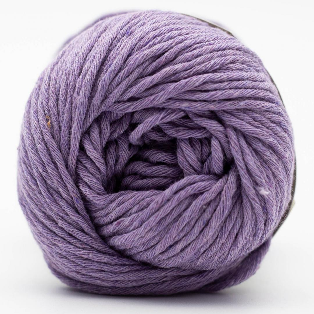 Kremke Soul Wool Karma Cotton, coton recyclé Lilac