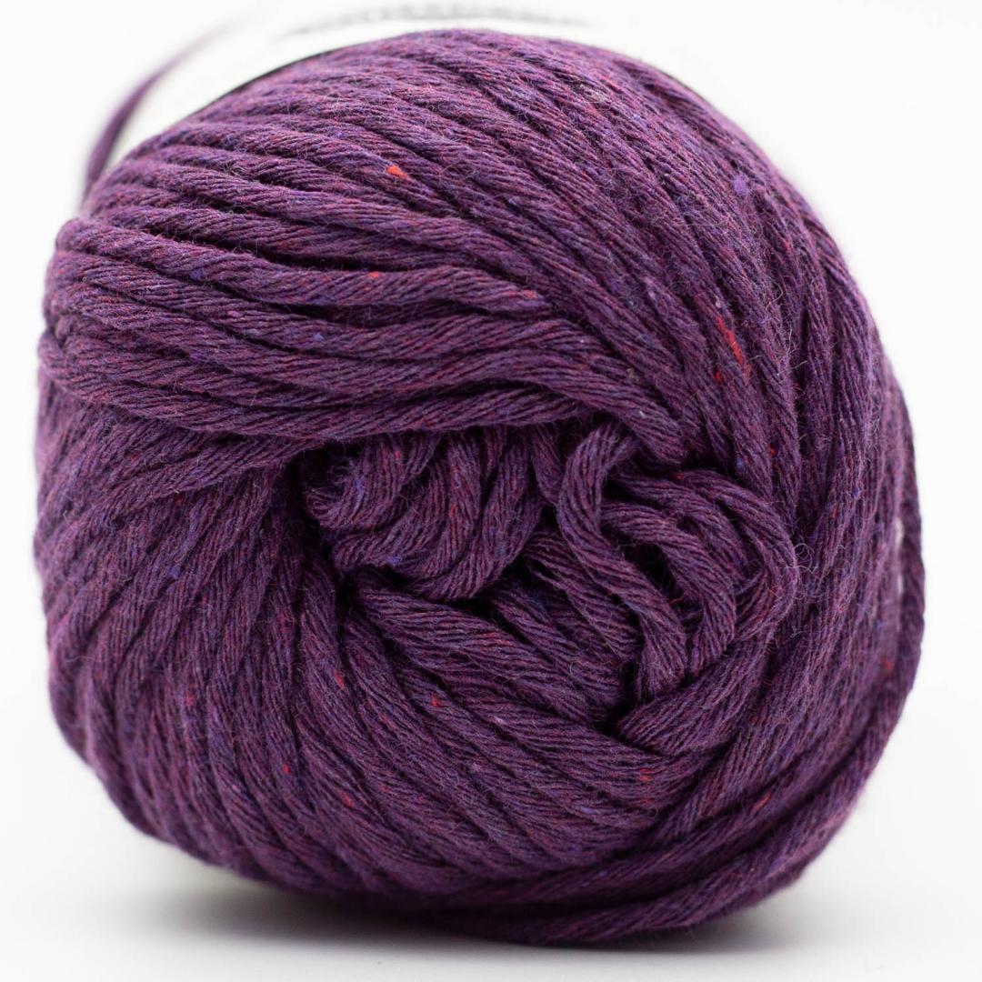 Kremke Soul Wool Karma Cotton, coton recyclé Plum