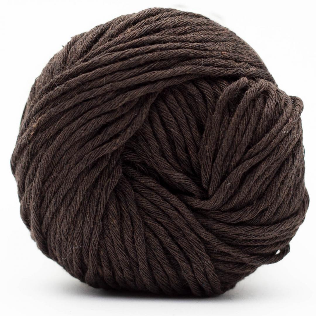 Kremke Soul Wool Karma Cotton, coton recyclé Dark Chocolate