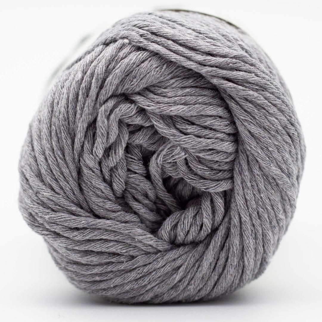 Kremke Soul Wool Karma Cotton, coton recyclé Silver