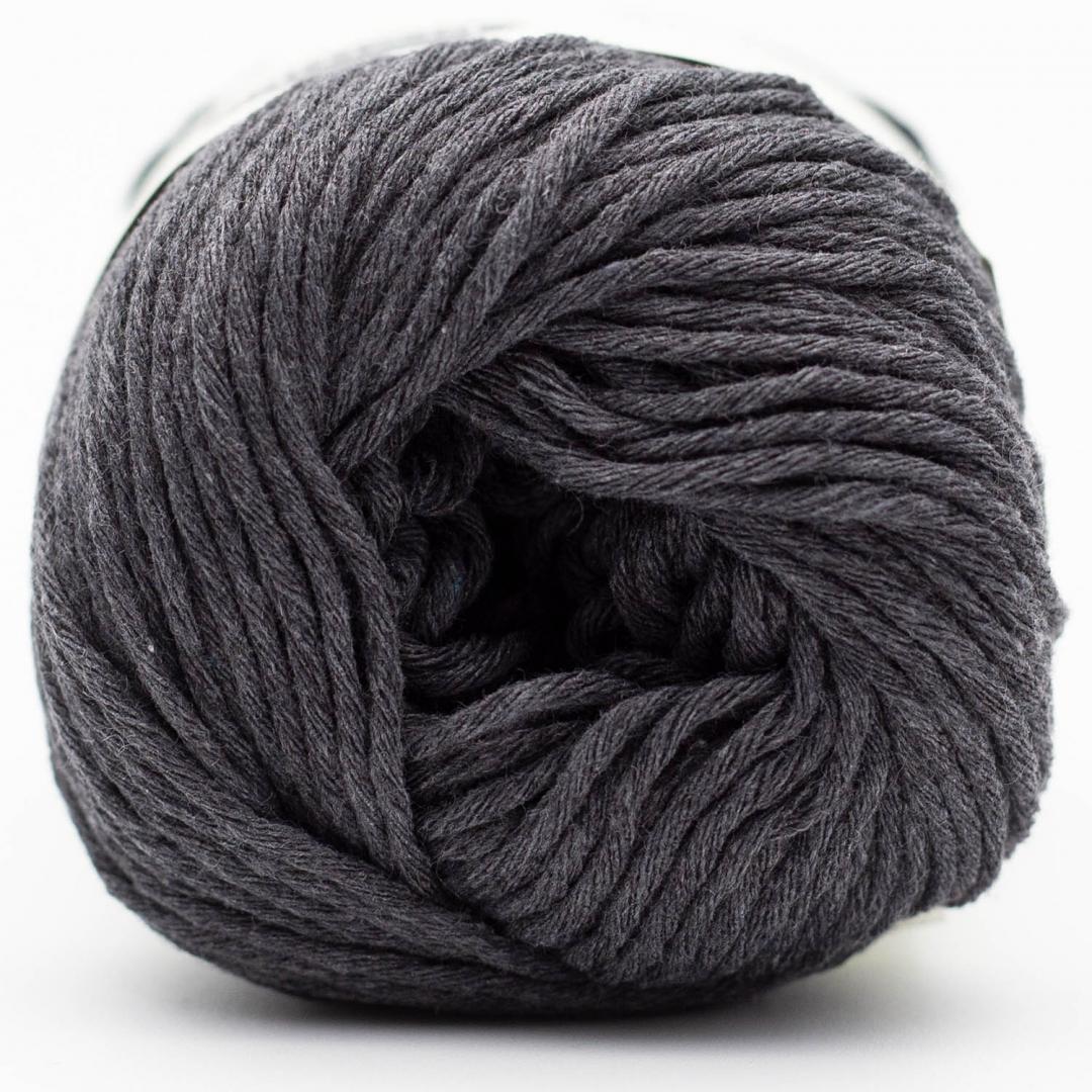 Kremke Soul Wool Karma Cotton, coton recyclé Anthracite