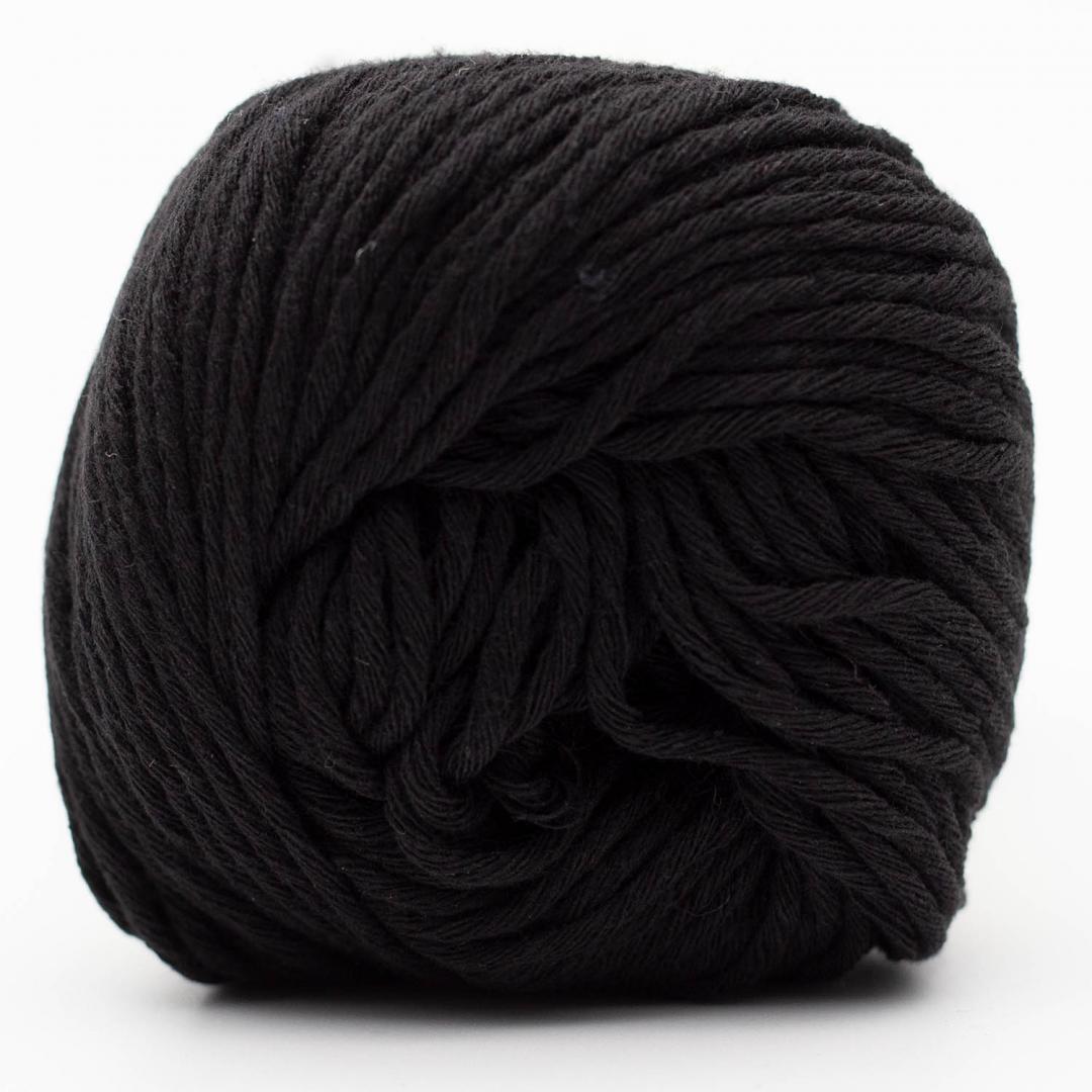 Kremke Soul Wool Karma Cotton, coton recyclé Black