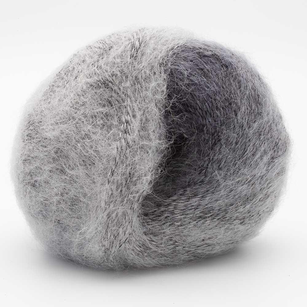 Kremke Soul Wool Baby Silk Fluffy multicolore Silber
