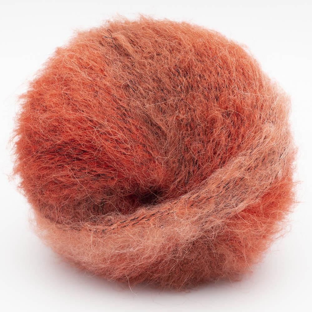 Kremke Soul Wool Baby Silk Fluffy multicolore Rostrot