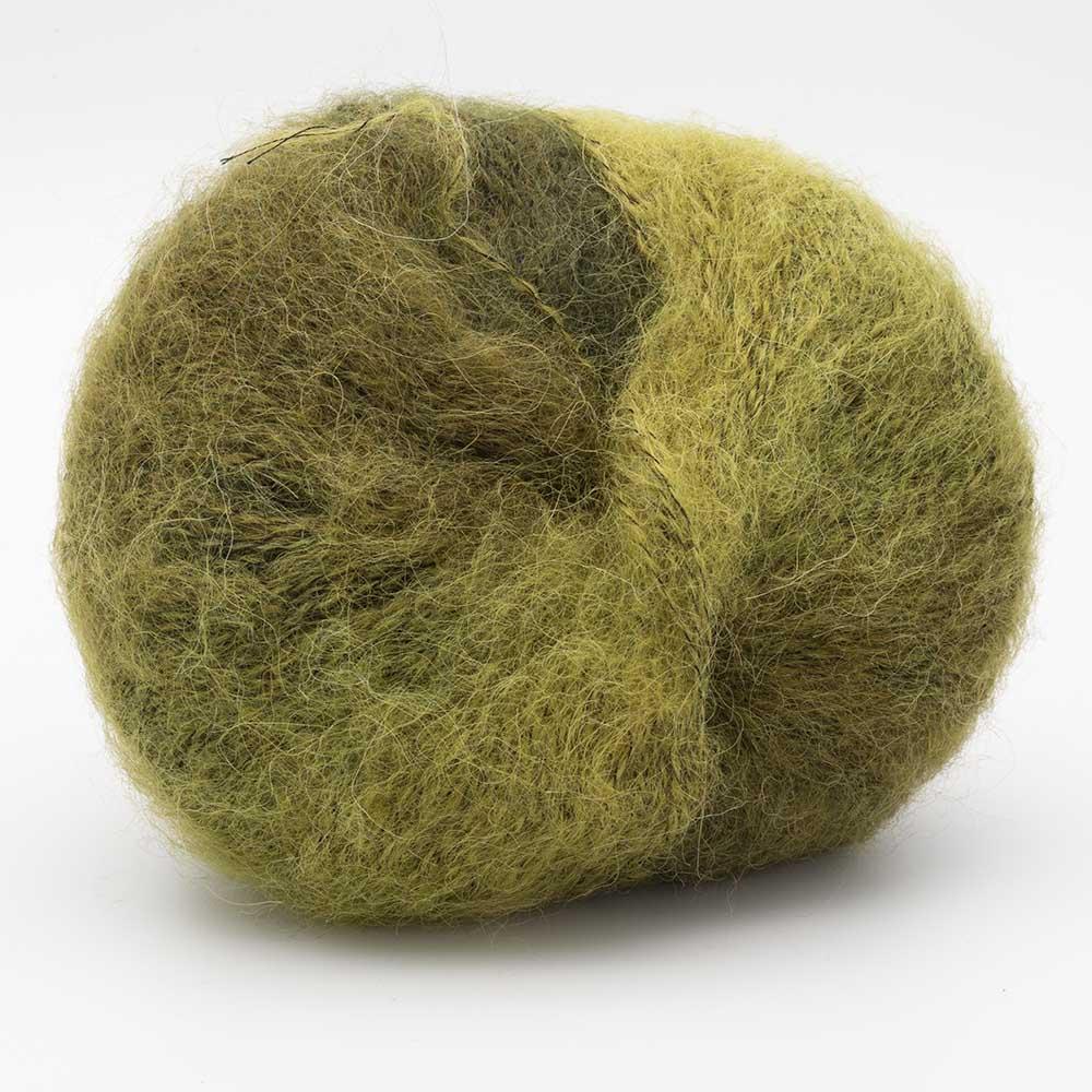 Kremke Soul Wool Baby Silk Fluffy multicolore Grün