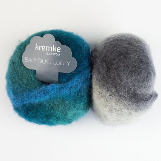 Kremke Soul Wool Baby Silk Fluffy multicolore