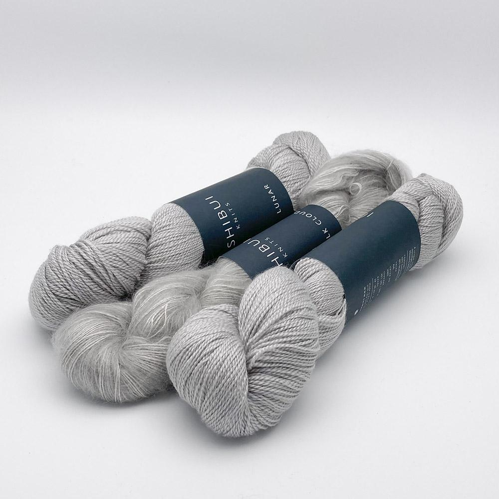 Shibui Knits Yarn Kit SCHNEE Ash