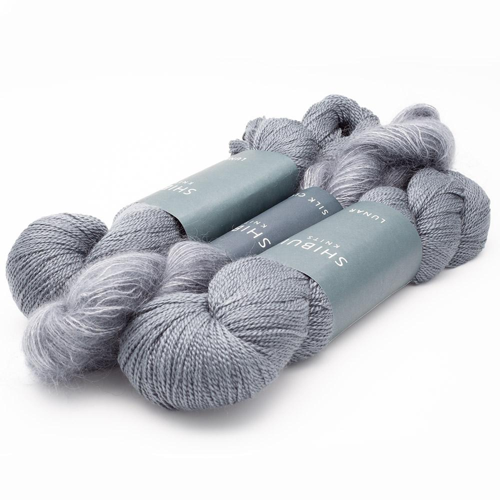 Shibui Knits Yarn Kit SCHNEE Graphite