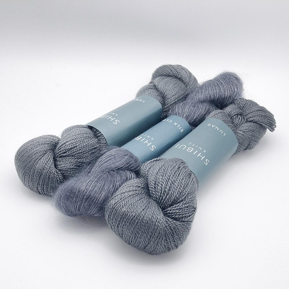 Shibui Knits Yarn Kit SCHNEE Tar
