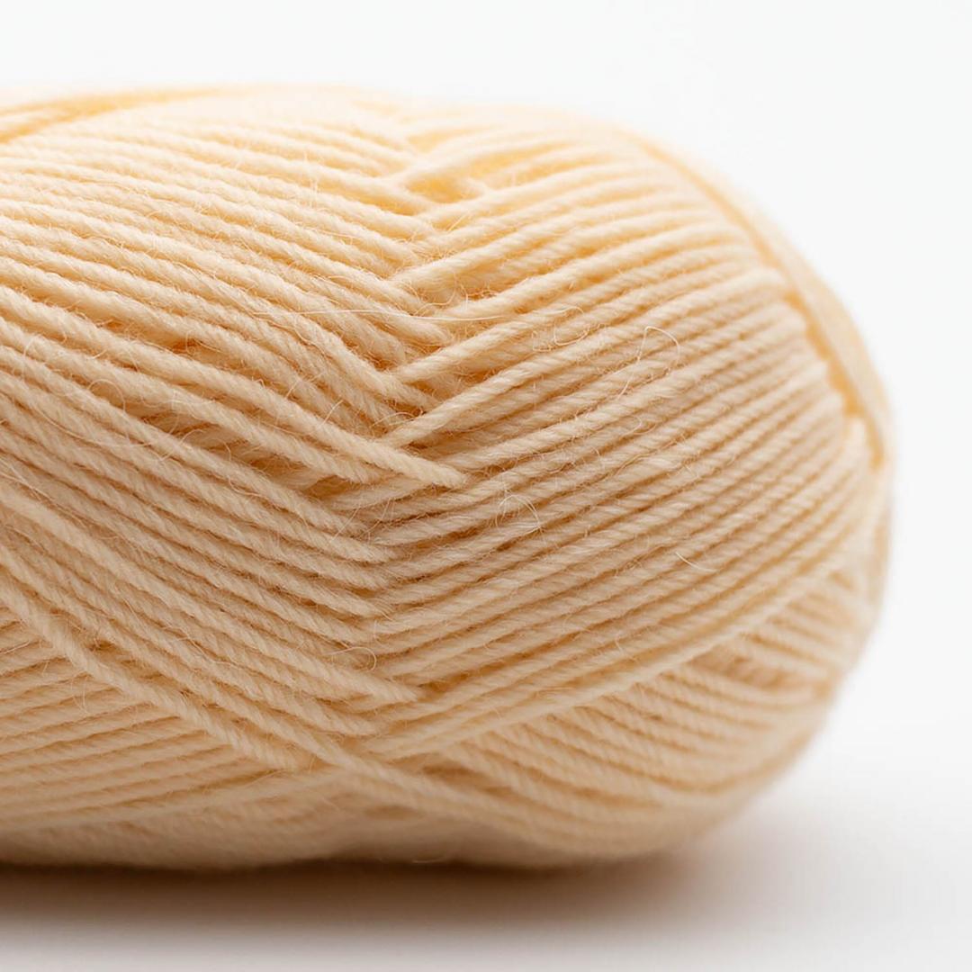 Kremke Soul Wool Edelweiss Alpaka 4-ply 25g Hellgelb