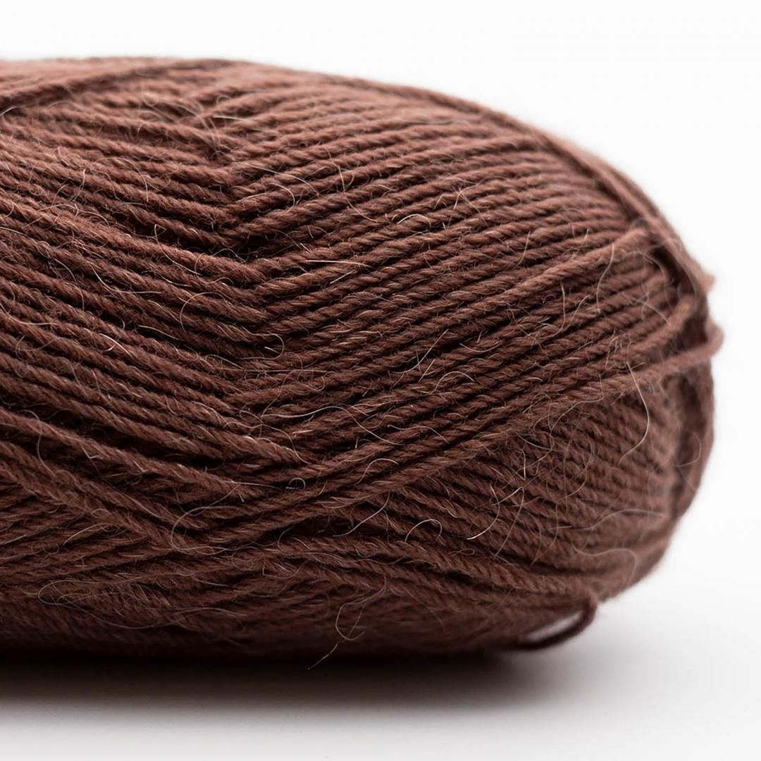 Kremke Soul Wool Edelweiss Alpaka 4-ply 25g Braun
