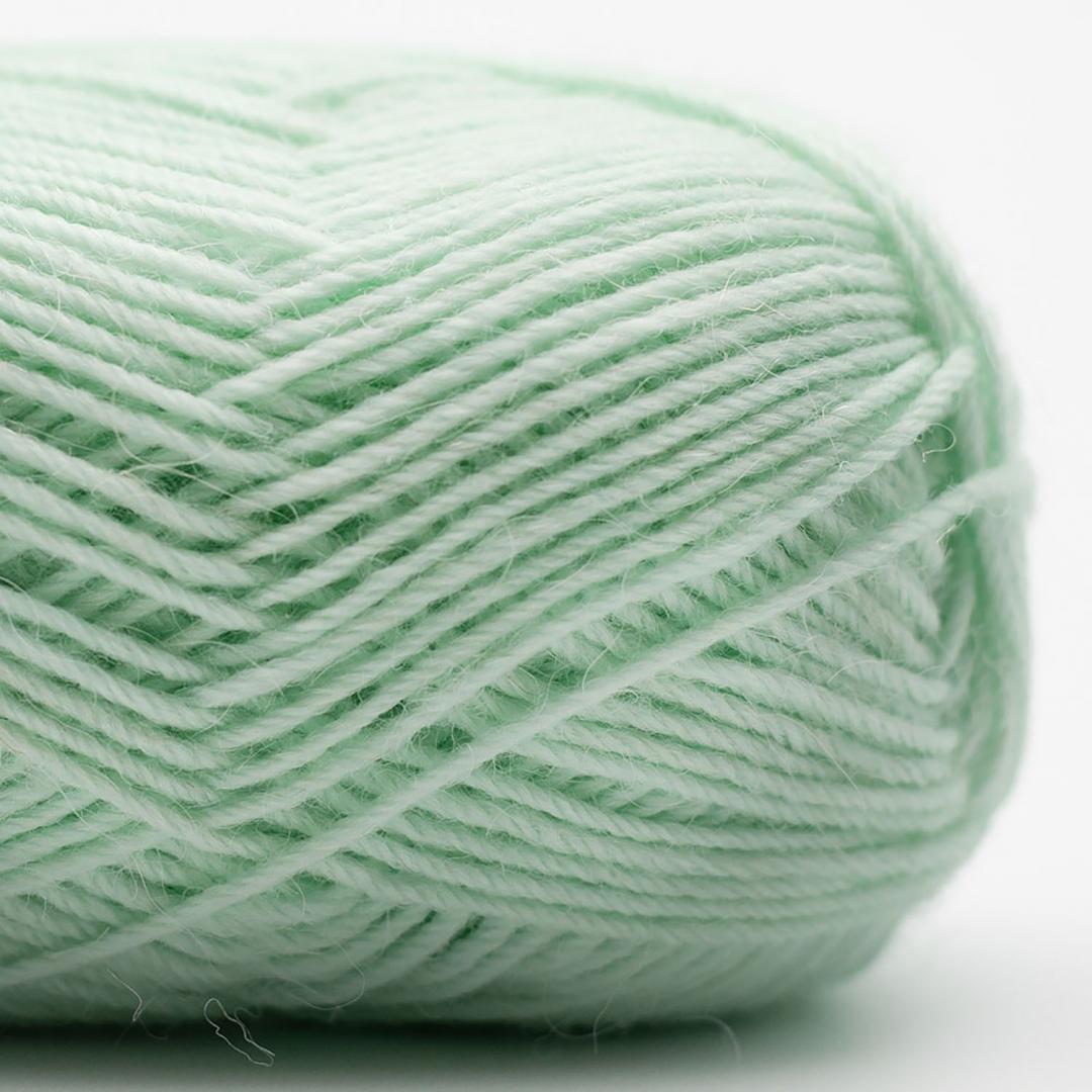 Kremke Soul Wool Edelweiss Alpaka 4-ply 25g Helltürkis