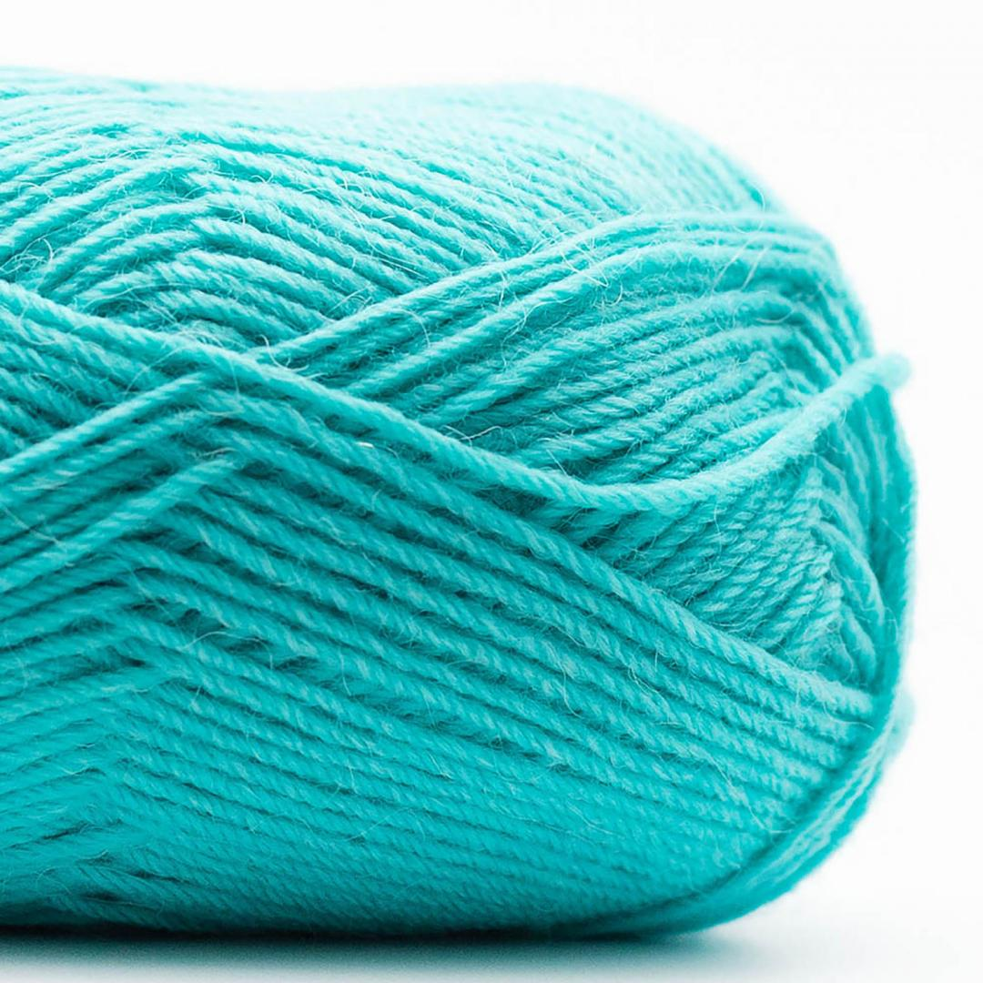 Kremke Soul Wool Edelweiss Alpaka 4-ply 25g Dunkeltürkis