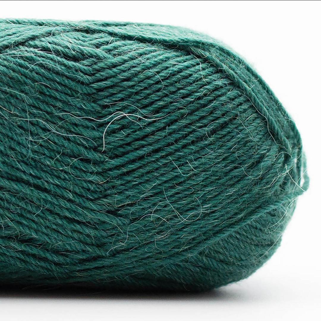 Kremke Soul Wool Edelweiss Alpaka 4-ply 25g Dunkelgrün