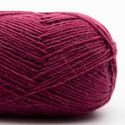 Kremke Soul Wool Edelweiss Alpaka 4-ply 25g Dunkelrot