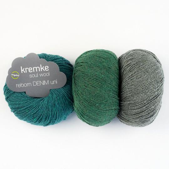 Kremke Soul Wool Reborn Denim Uni