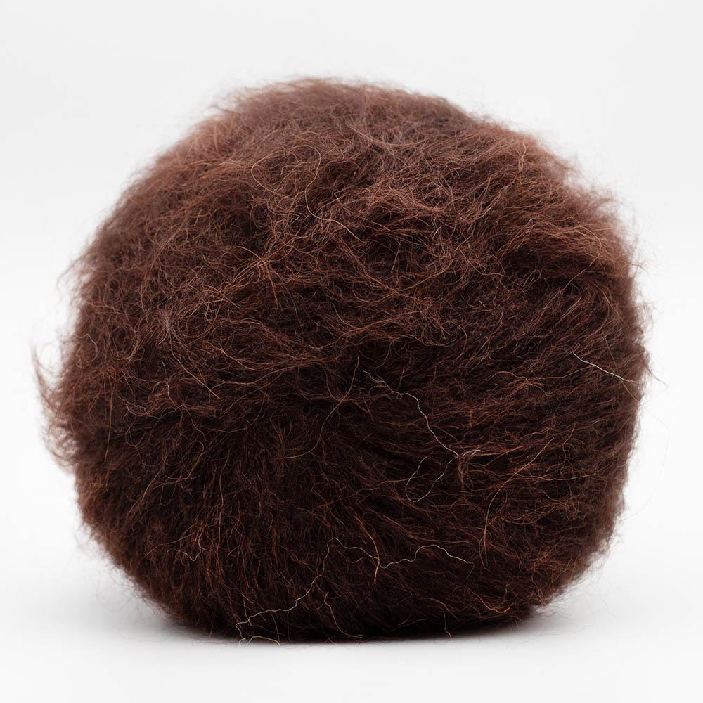 Kremke Soul Wool Baby Silk Fluffy uni Chocolate