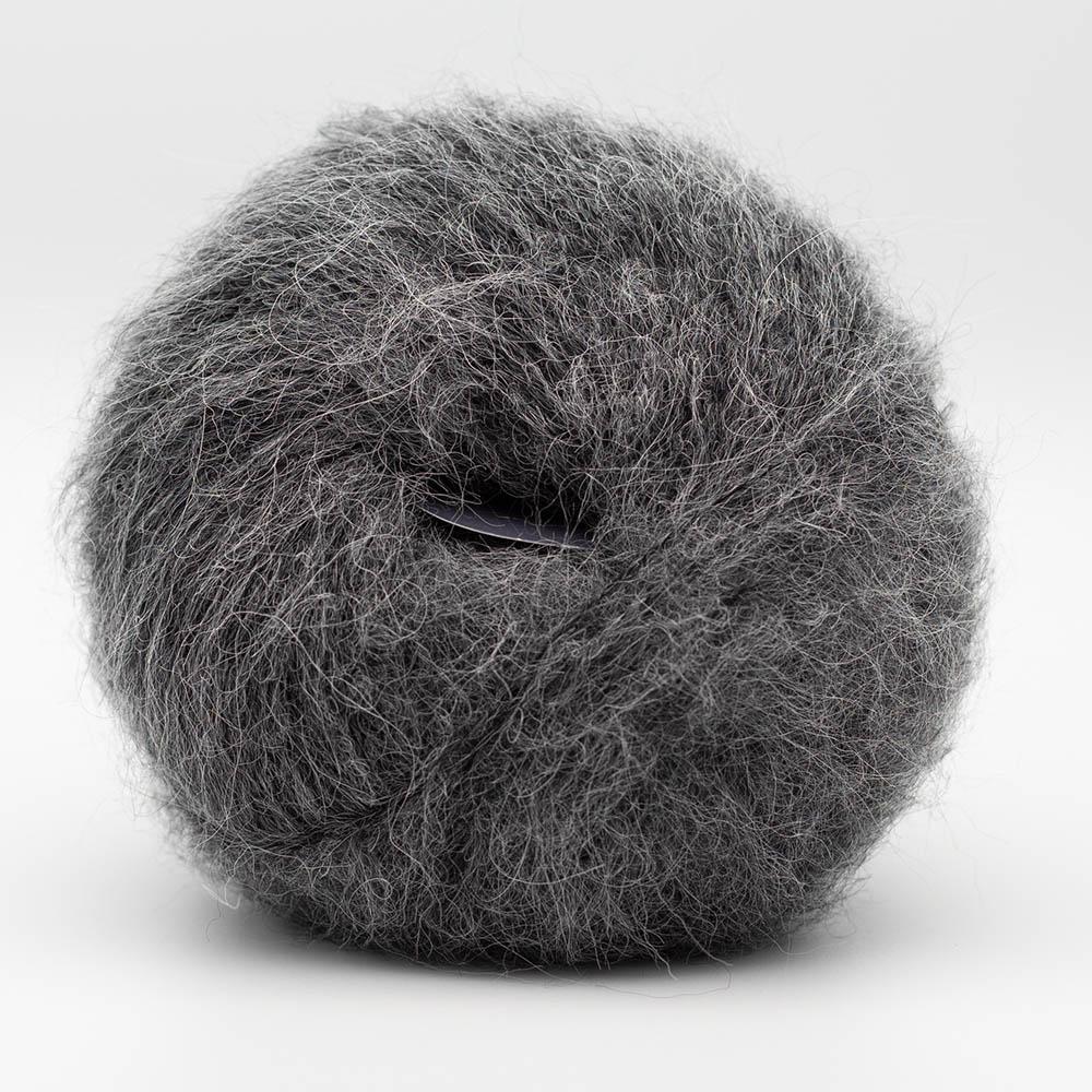 Kremke Soul Wool Baby Silk Fluffy uni Grey melange