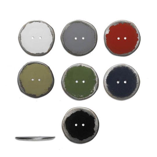 Jim Knopf Bouton, capsules recyclées 30mm