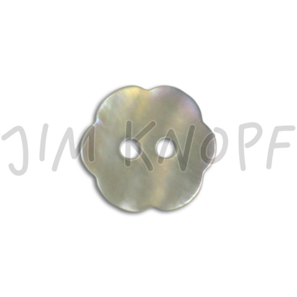 Jim Knopf bouton akoya en forme de fleur 11mm