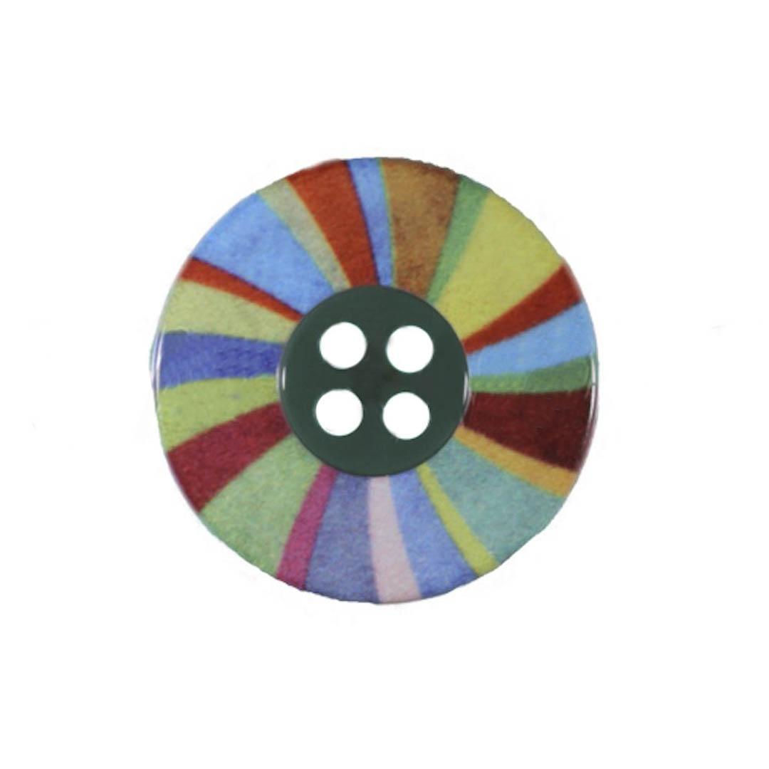 Jim Knopf Bouton résine roue magique
