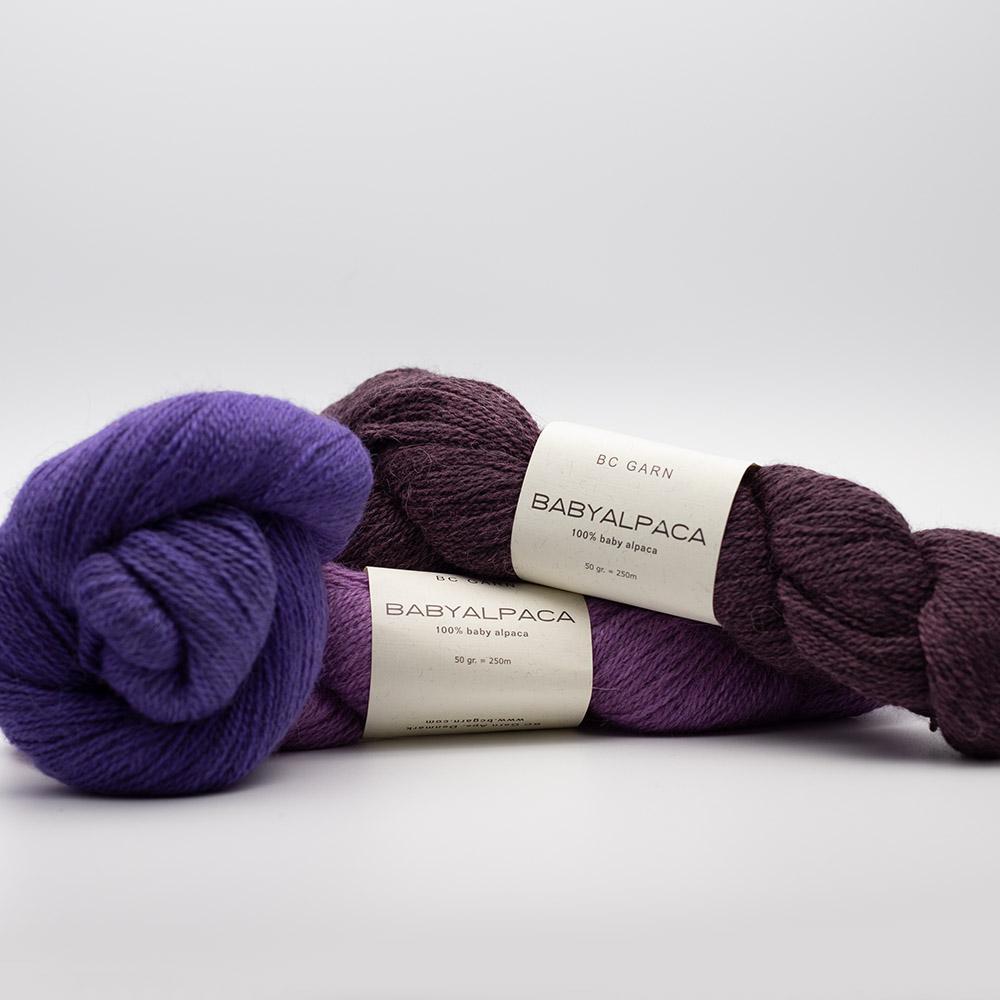 BC Garn Baby Alpaca 10/2 discontinued colors