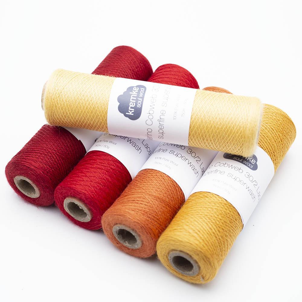 Kremke Soul Wool Merino Cobweb lace 30/2 superfine superwash