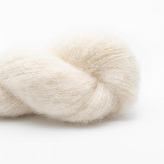 BC Garn Brushed Baby GOTS undyed Limited Edition  Natural white undyed