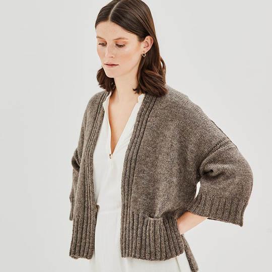Erika Knight Patron FETTLE pour Wool Local EK0001