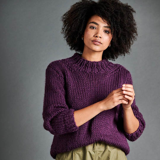 Erika Knight Patron PASSERBY pour Maxi Wool EK0008