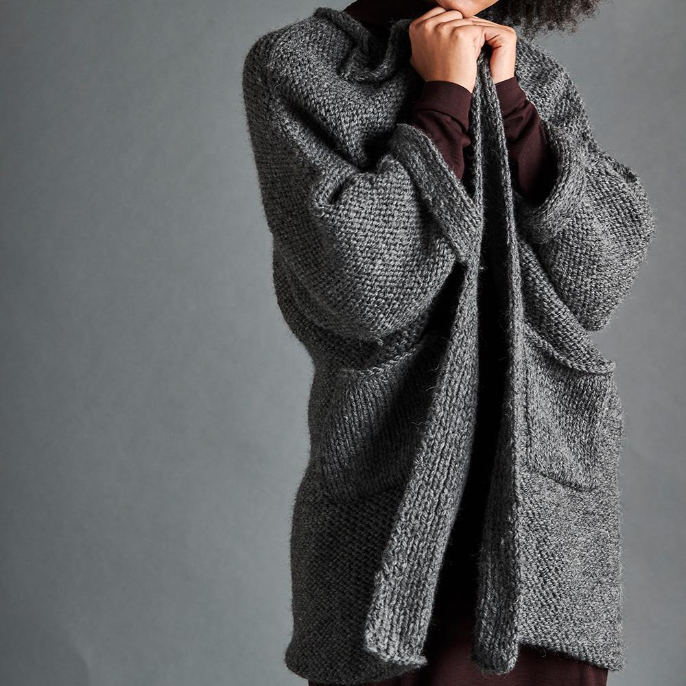 Erika Knight Patron TRAVELLER pour Maxi Wool EK0009