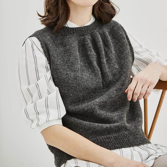 Erika Knight Patron GRIMSHAW pour Wool Local EK0012