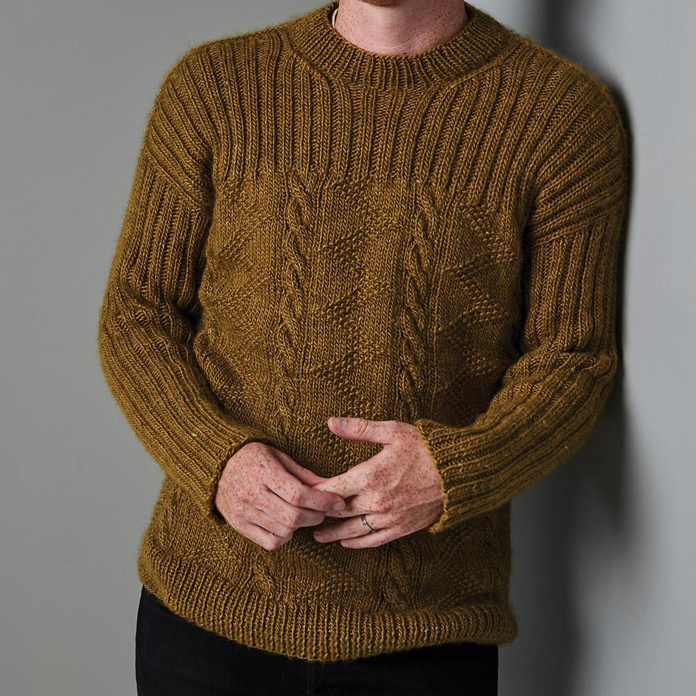 Erika Knight Patron FORESTHILL pour Wild Wool EK0015