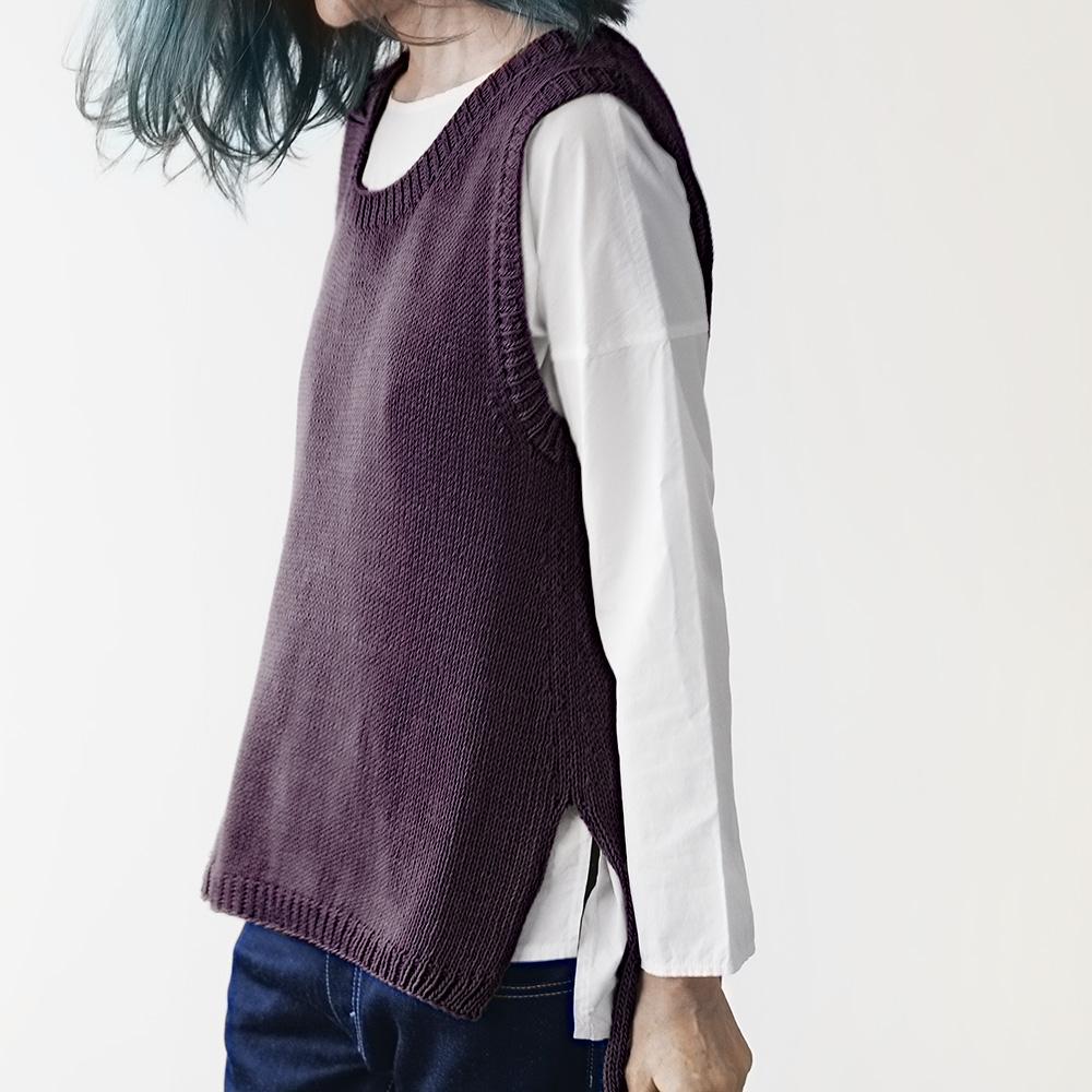 Erika Knight Patron RAVELLO pour Studio Linen EK0017