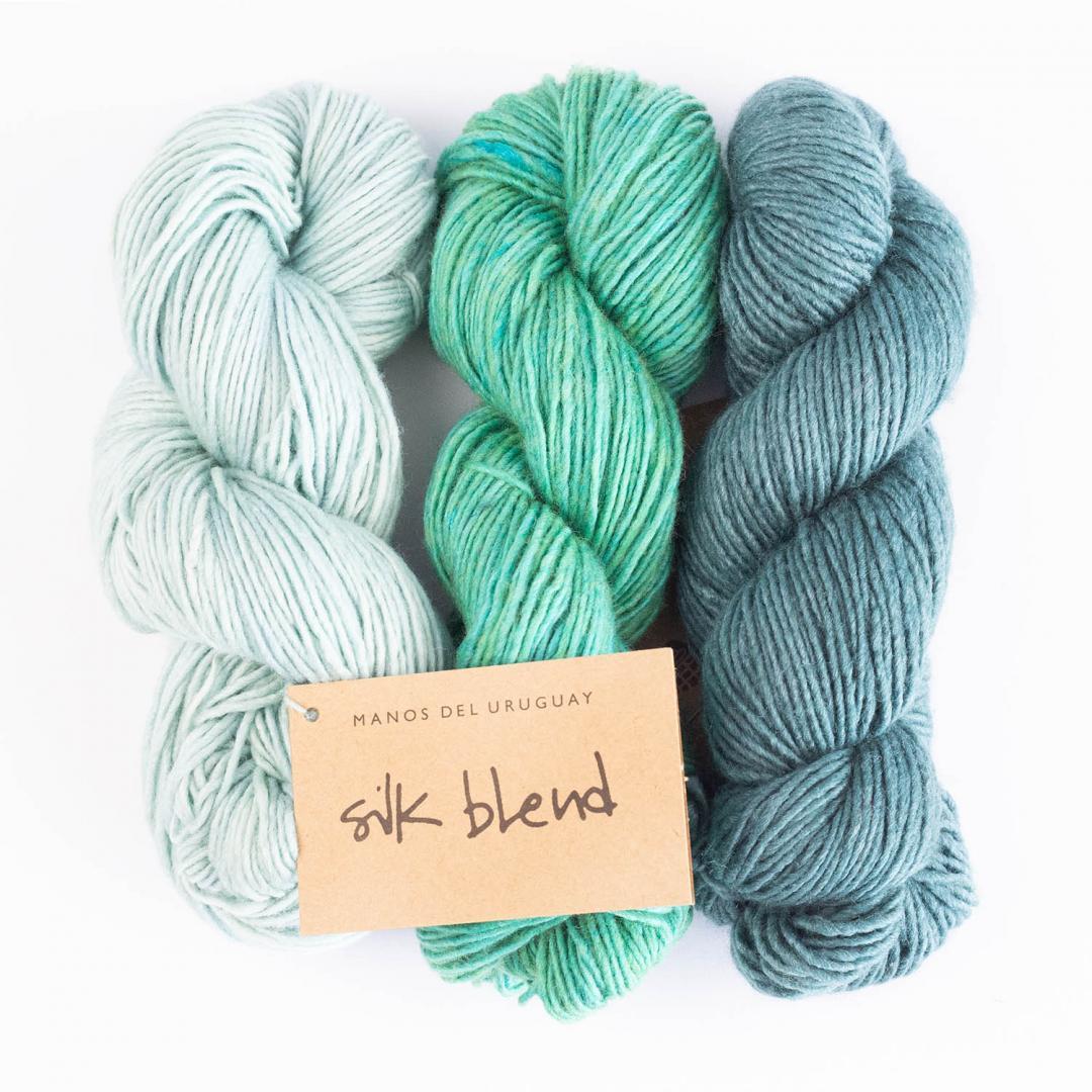 Manos del Uruguay Silk Blend Uni teint à la main  Natural3014