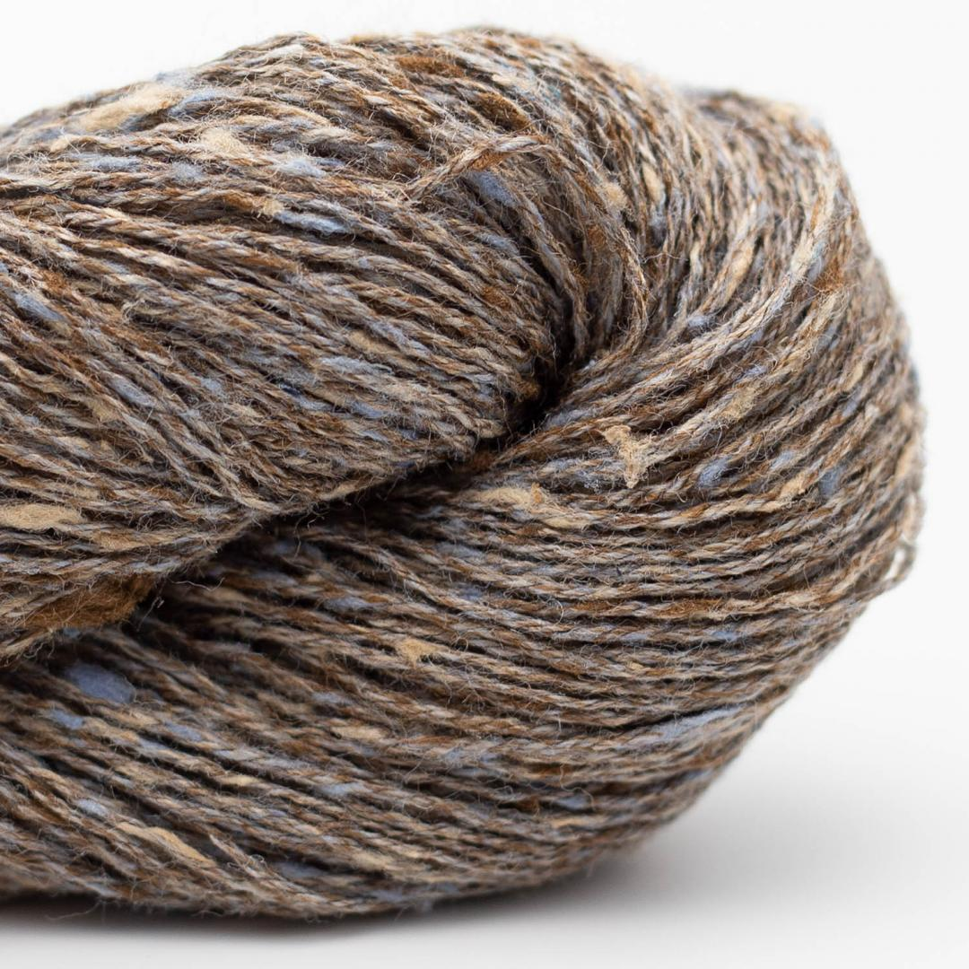 BC Garn Tussah Tweed brown-grey-nature-mix