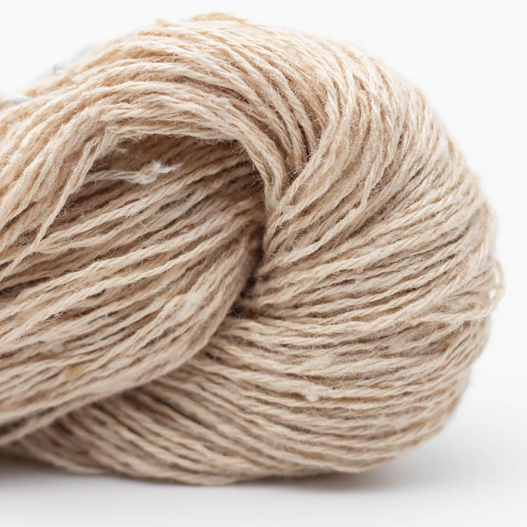 BC Garn Tussah Tweed Hellbeige uni