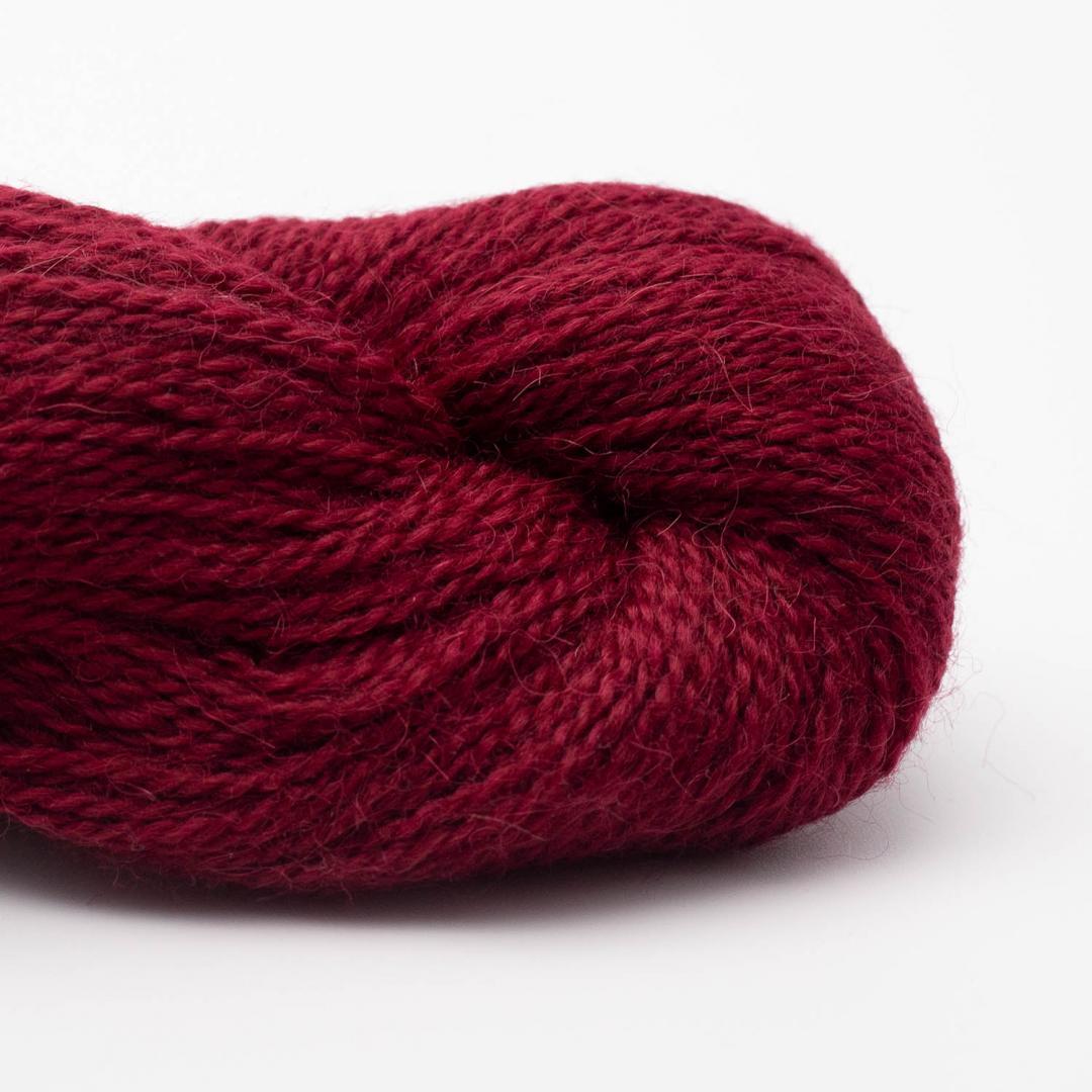 BC Garn Baby Alpaca 10/2 wine red