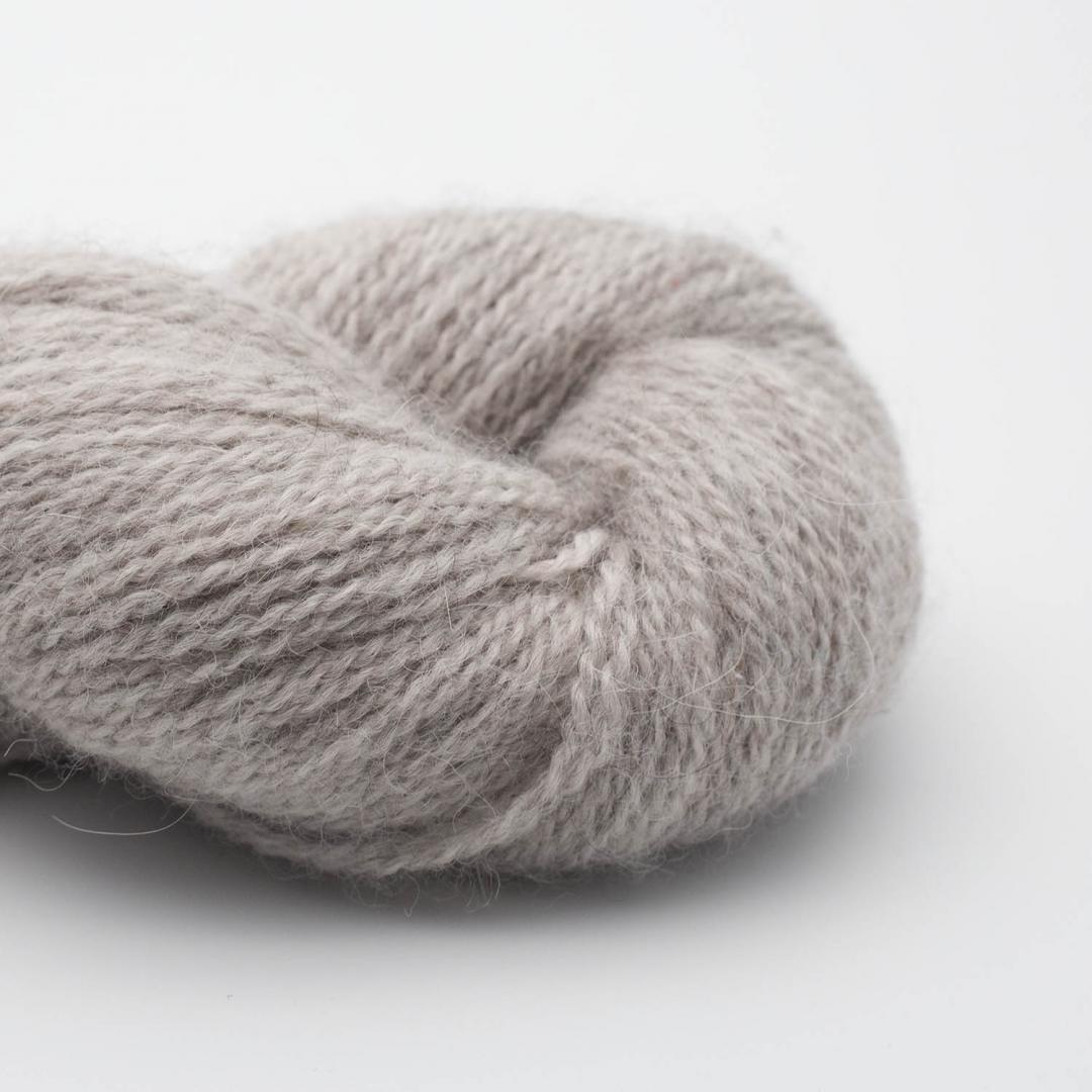 BC Garn Baby Alpaca 10/2 silver (undyed)