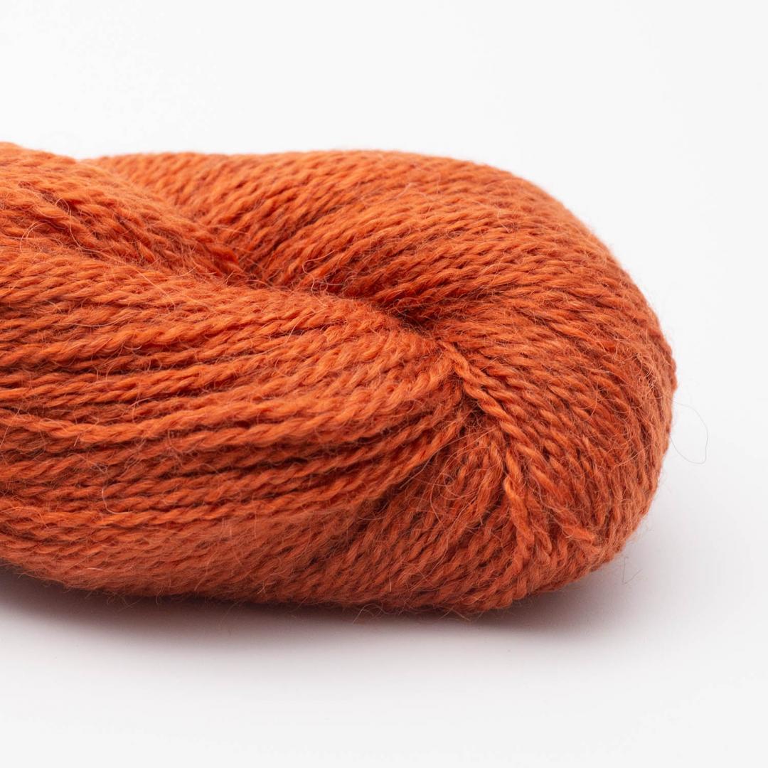 BC Garn Baby Alpaca 10/2 rusty red