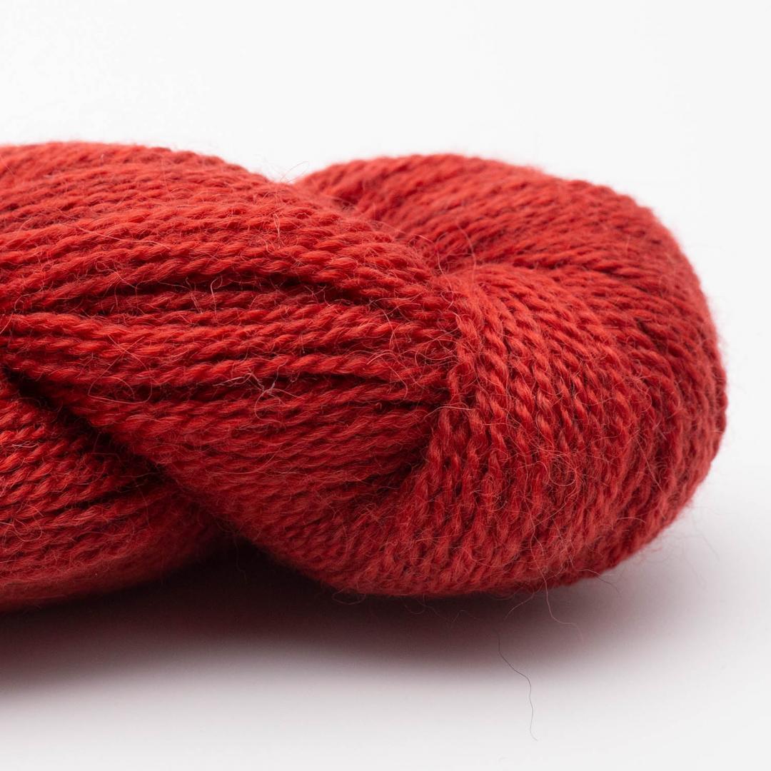 BC Garn Baby Alpaca 10/2 brick red