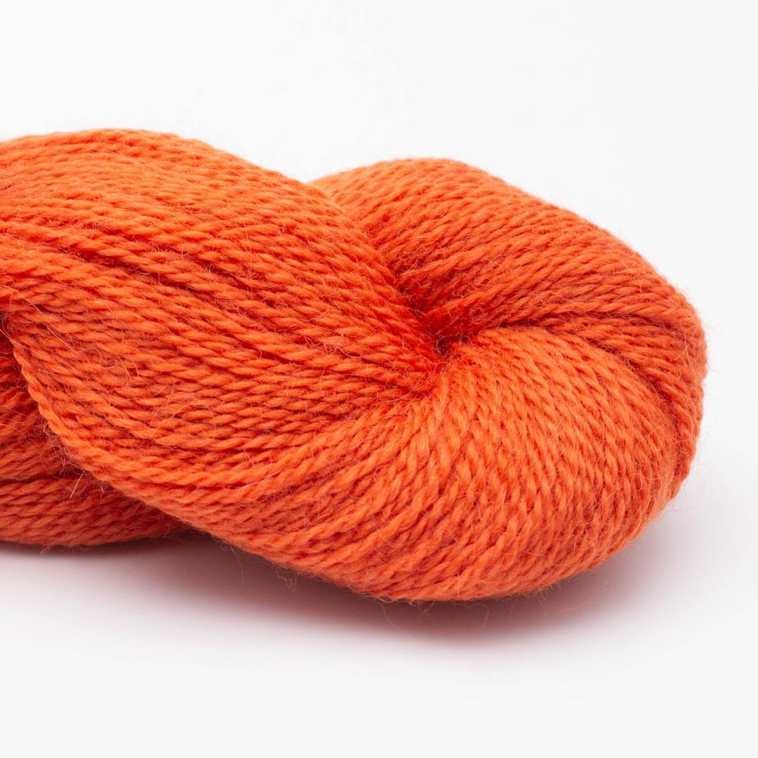 BC Garn Baby Alpaca 10/2 bright orange