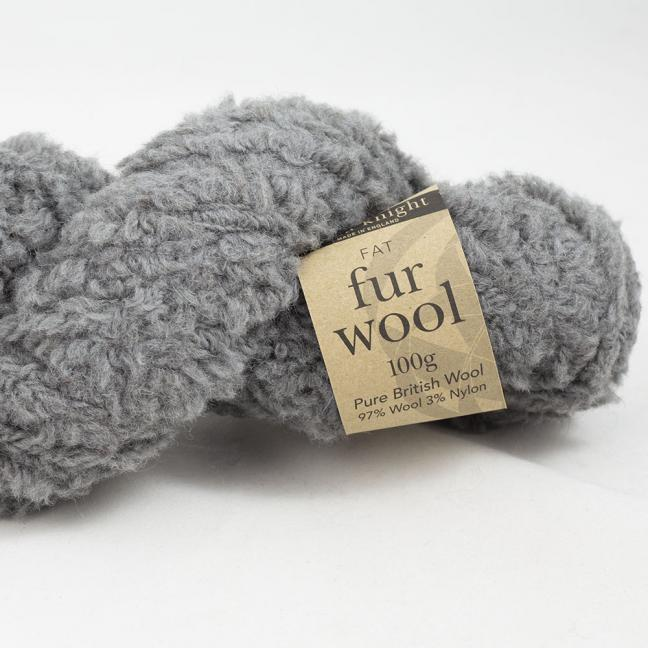 Erika Knight Fur Wool Storm