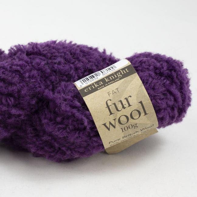 Erika Knight Fur Wool Mulberry