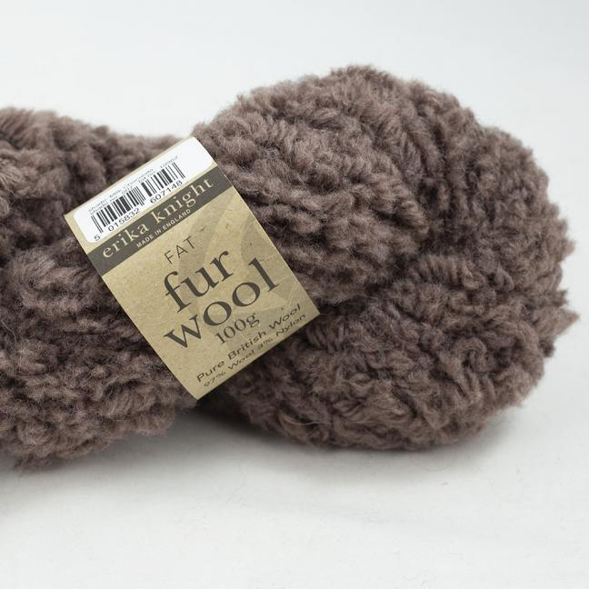 Erika Knight Fur Wool Milk Chocolate