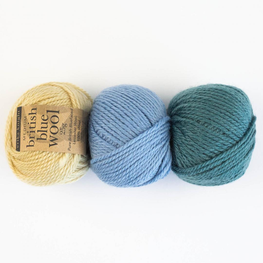 Erika Knight British Blue Wool (25g)