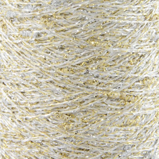 Karen Noe Design Stardust - Lurex thread gold-silver