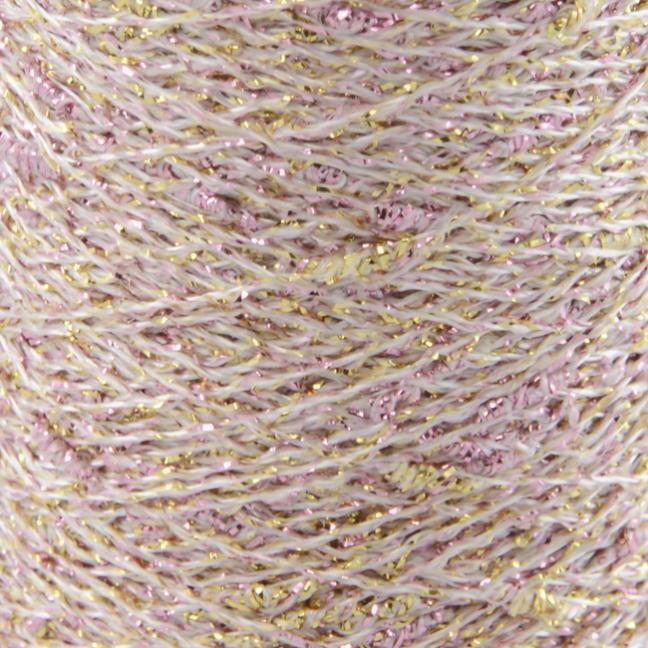 Karen Noe Design Stardust - Lurex thread rose-gold
