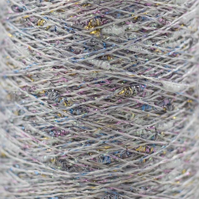 Karen Noe Design Stardust - Lurex thread sorbet